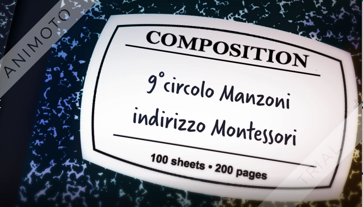 """Presentazione della """"Scuola Montessori"""""""